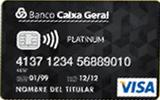 Tarjeta VISA Platinum de Banco Caixa Geral