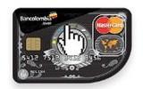 18057 tarjeta credito mastercard joven banco bancolombia