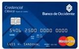 Tarjeta de Crédito Credencial Clásica MasterCard