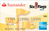 Santander Six Flags American Express