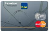 Tarjeta Universal Banco Itaú