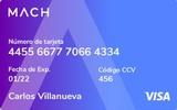 Logotipo de Tarjeta MACH