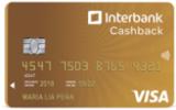 Visa CashBack Oro Interbank