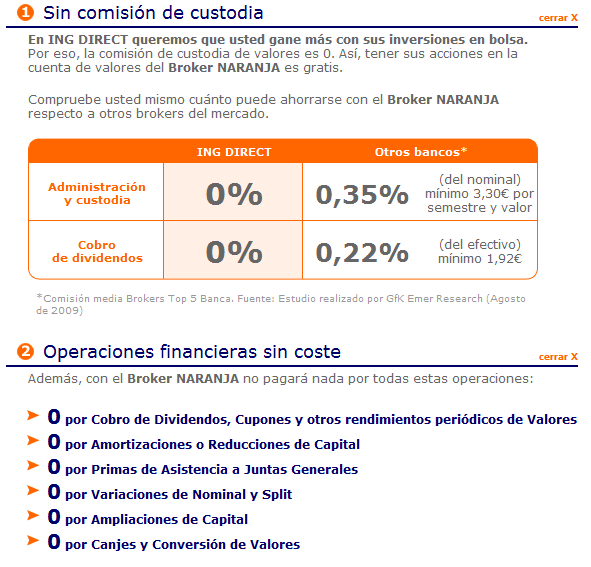 Comisiones ing