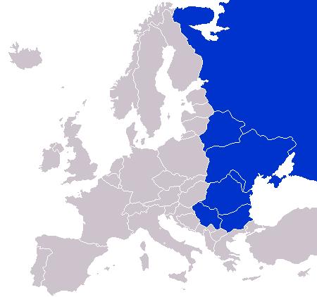 Europa del este.mapa