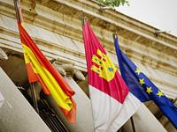 Spain european union flag 200