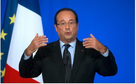 Hollande presidente francia
