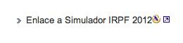 Simulador irpf 2012