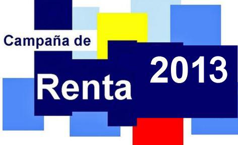 Guia declaracion de la renta 2013