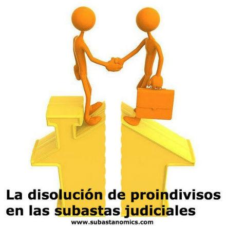La disoluci%c3%b3n de proindivisos en las subastas judiciales