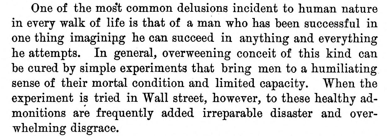 Delusions about wall street by henry  clews  1887