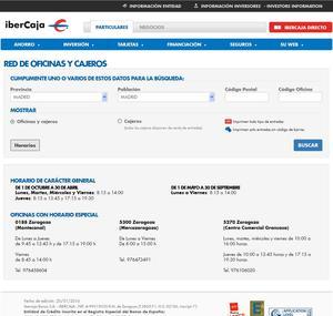 Horarios bancos banco santander bbva bankia la caixa for Horario oficinas banco santander barcelona