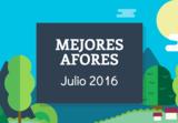 Mejores afores julio 2016