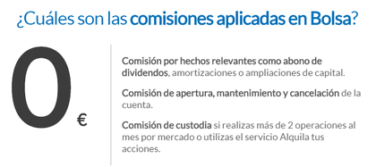 Comisiones self bank foro