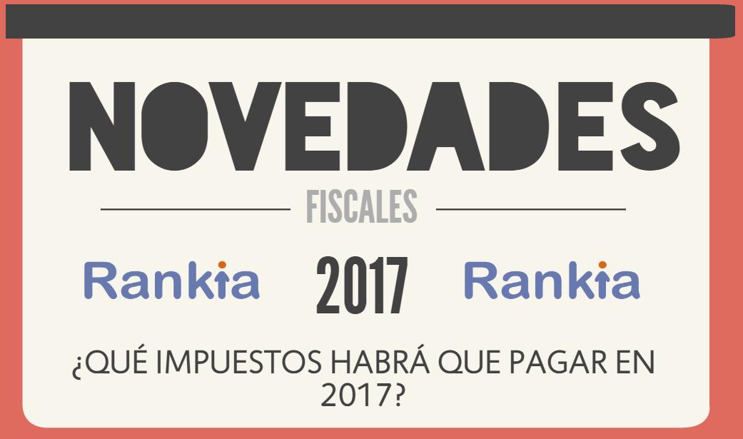 Que impuestos habra que pagar en 2017 novedades fiscales