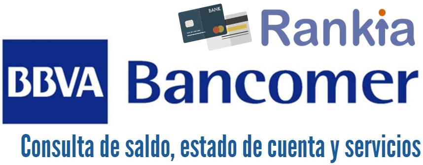 Bbva bancomer consulta de saldo estado de cuenta servicios