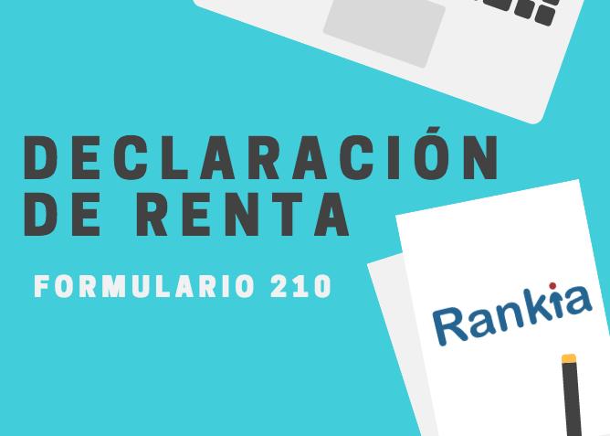 Como presentar declaracion renta formulario 210