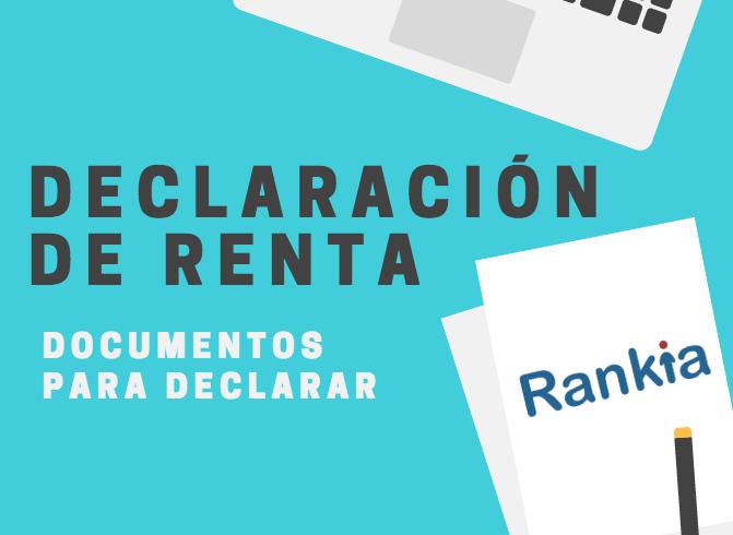 Documentos para declarar renta