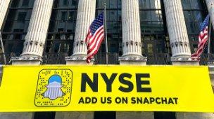 Snapchat debuta en el NYSE