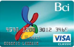 Mejores tarjetas con ingresos inferiores a $500.000: Bci Visa Classic
