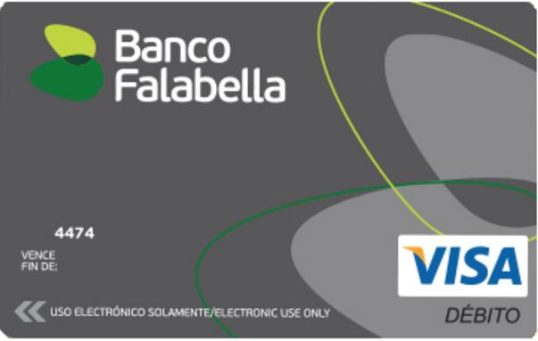 Mejores tarjetas con ingresos inferiores a $500.000: Visa Banco Falabella