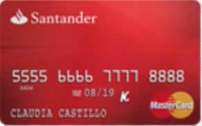 Mejores tarjetas con ingresos inferiores a $500.000: Mastercard Universal Santander