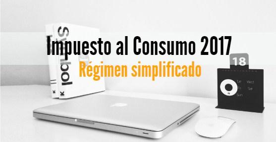 Impuesto al consumo 2017