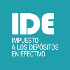 ¿Qué es el impuesto a los depósitos en efectivo (IDE)?