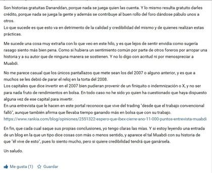 """""""Los capitales que dice invertir..."""