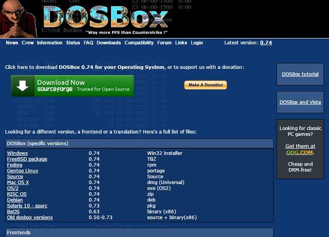 Herramientas De Pc Dosbox Para Emular Maquinas Con Ms Dos Rankia