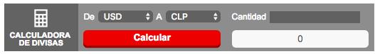 Plataforma mercados en línea Santander: Calculadora