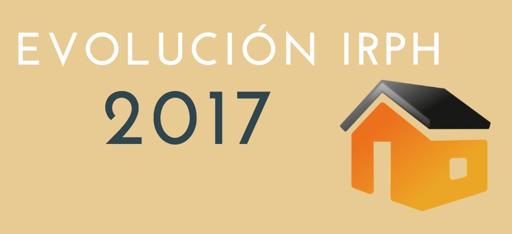 Evolución IRPH 2017
