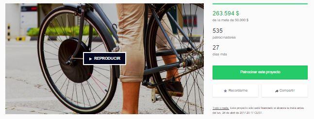 Campaña de crowdfunding de UrbanX