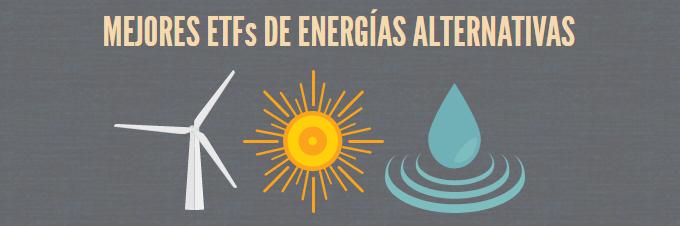 Mejores ETFs de energías alternativas