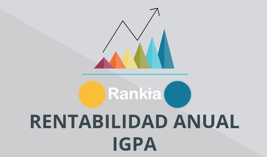 Rentabilidad anual IGPA