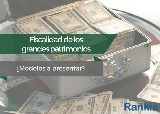 ¿Tratamiento fiscal de los grandes patrimonios: modelos a presentar?
