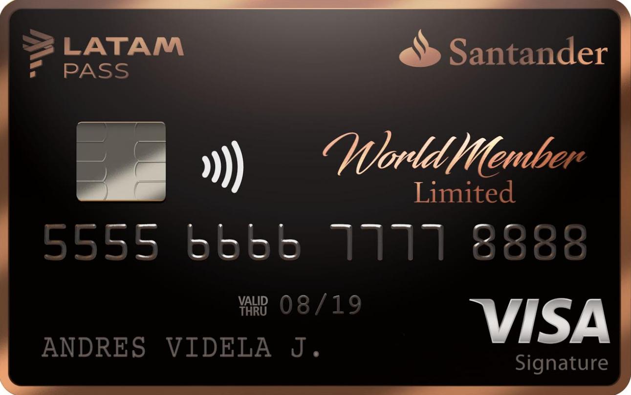 Santander amplía alianza con LATAM y lanza WorldMember Limited