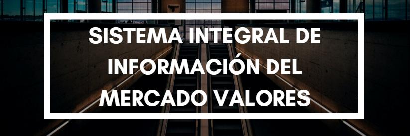 Sistema Integral de Información del Mercado de Valores (SIMEV)