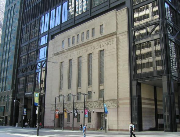 Principales bolsas de valores del mundo y sus indicadores: Bolsa de Toronto