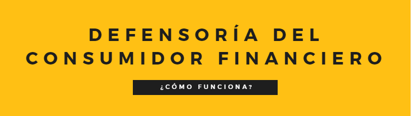 Defensoría del consumidor financiero