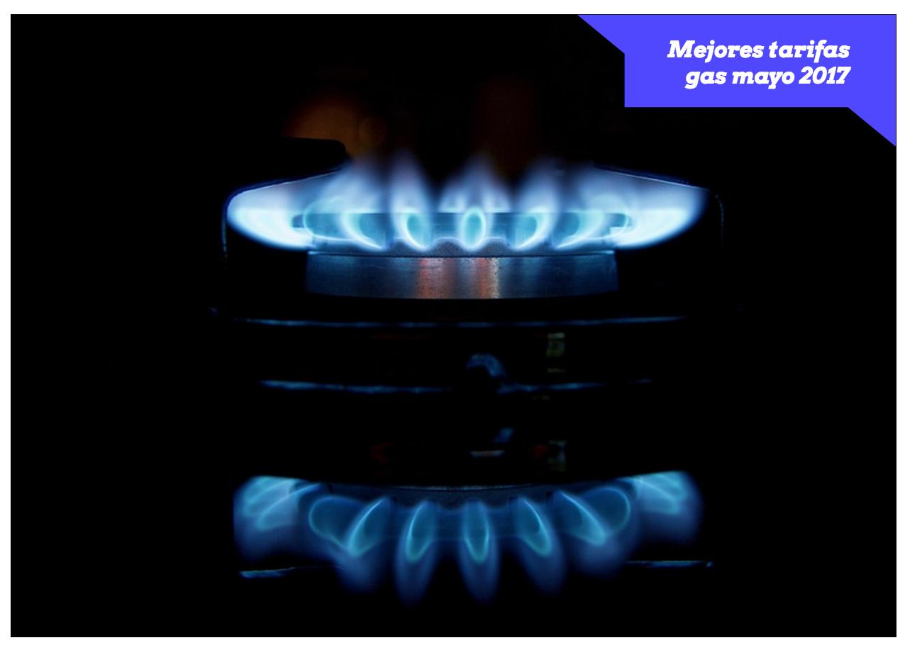 Mejores tarifas gas abril de 2017
