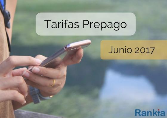 Comparativa tarifas móviles: Tarifas prepago o tarjeta más baratas para Junio de 2017