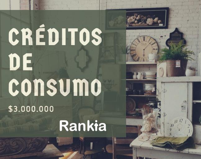 Comparamos créditos de consumo de $3.000.000