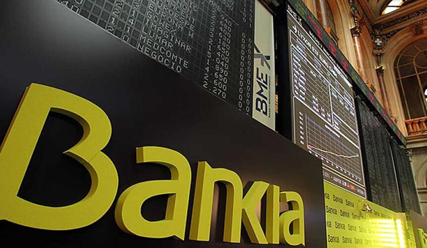 Cotización de Bankia tras el contrasplit