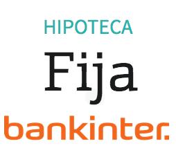 Hipoteca Fija Bankinter