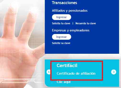 Certificado de Pensión: Protección