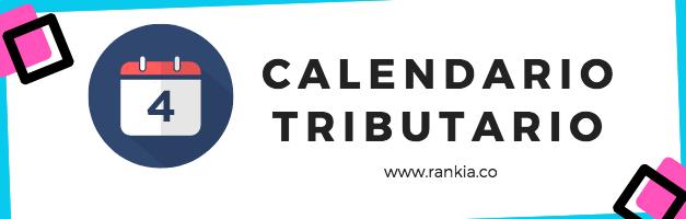 Pasos para realizar declaración: Calendario Tributario