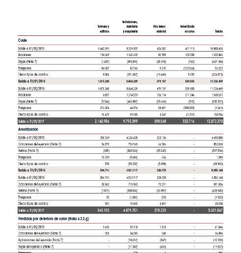 Balance Inditex