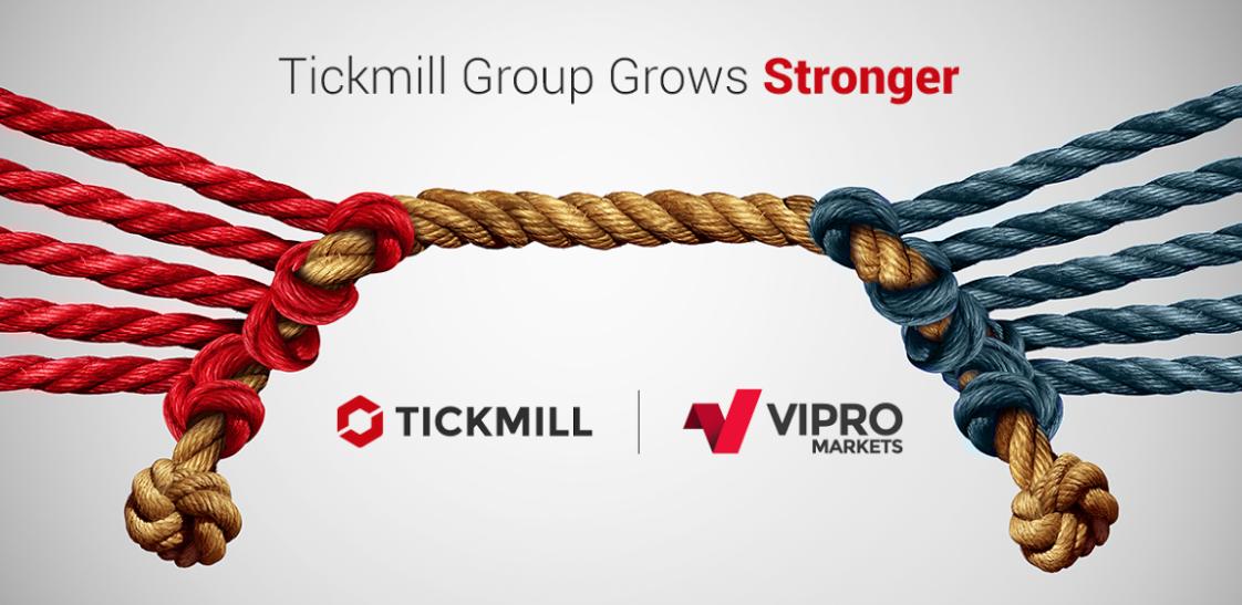 El Grupo Tickmill se vuelve aún más fuerte con la adquisición de Vipro Markets
