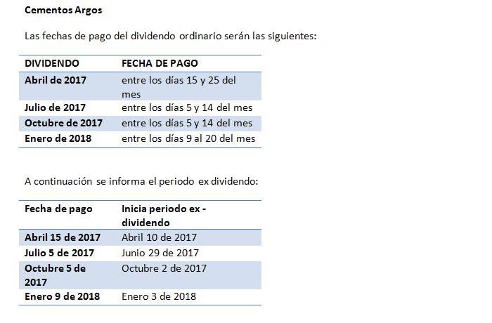 dividendos-cementos-argos-2017